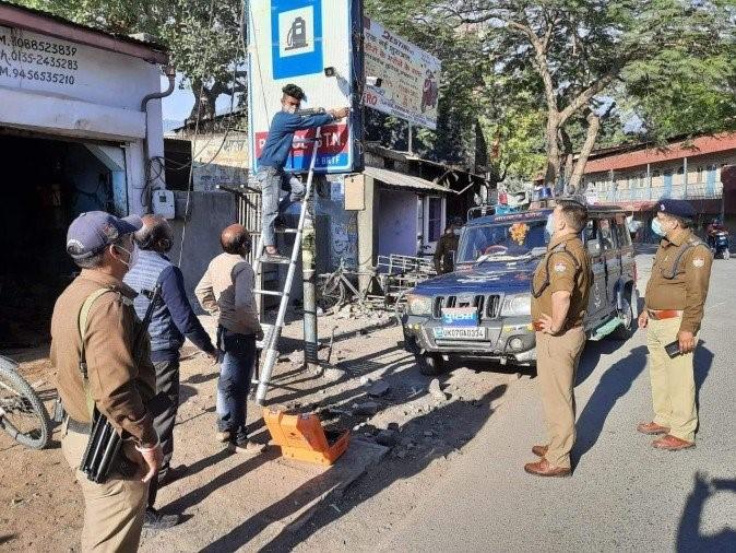 कोतवाली क्षेत्र में आपराधिक गतिविधियों पर रखेगी तीसरी आंख नजर