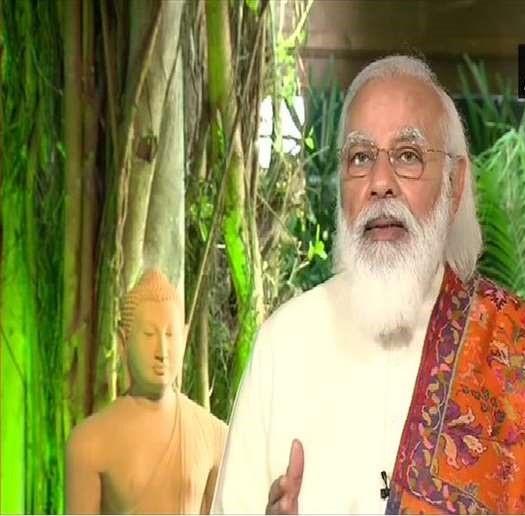 पीएम मोदी ने पारंपरिक बौद्ध साहित्य, शास्त्रों के लिए पुस्तकालय का प्रस्ताव रखा
