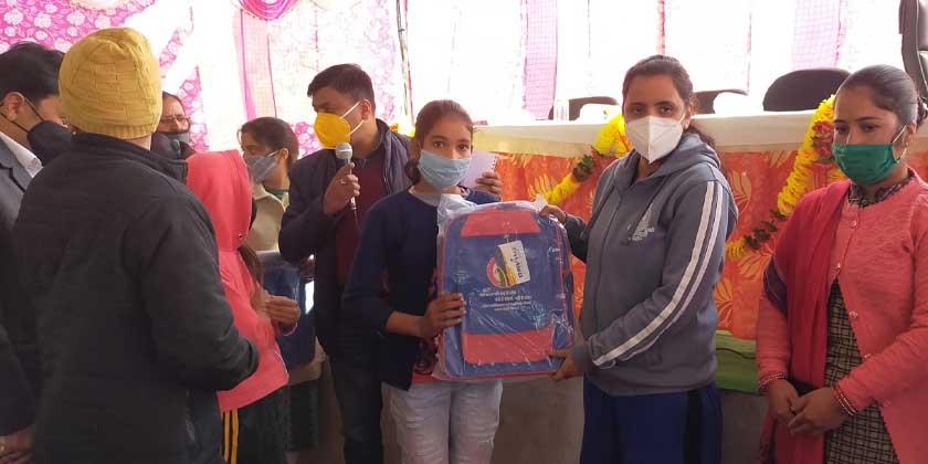 तहसील प्रतापनगर क्षेत्रान्तर्गत ओखलाखाल में क्यूआरटी कैम्प का आयोजन
