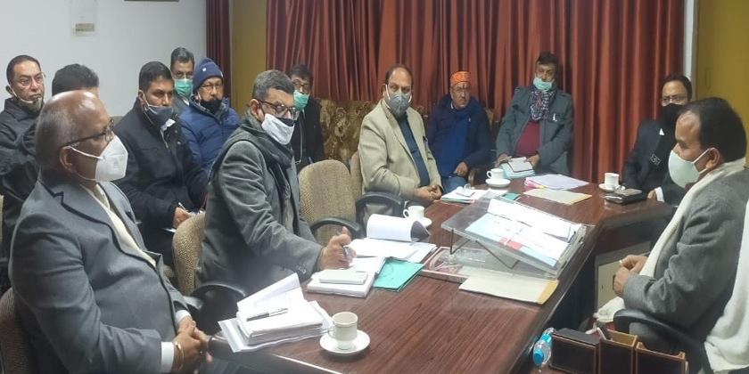 डॉ धन सिंह रावत ने बुआखाल से पाबौ तक नया बाईपास मोटर मार्ग बनाने के निर्देश दिए