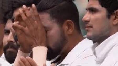 आंखों से छलके आंसू राष्ट्रगान के वक्त Mohammed Siraj की