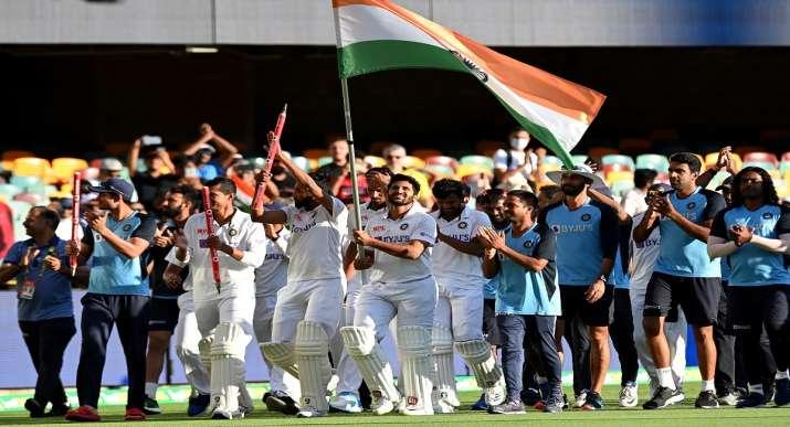 ब्रिसबेन टेस्ट में भारत ने 3 विकेट से जीत दर्ज कर 2-1 से सीरीज पर किया कब्जा , गाबा में टूटा ऑस्ट्रेलिया का 'गुरुर