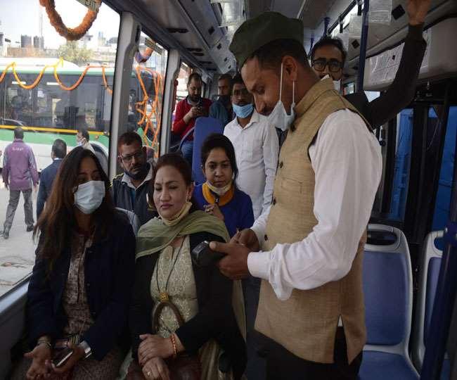 उत्तराखंड : पहले दिन 500 ने किया सफर स्मार्ट इलेक्ट्रिक बस में , सुबह छह से रात दस बजे तक हो रहा संचालन
