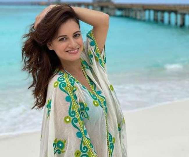 बॉलीवुड न्यूज़ : Honeymoon मनाने पहुंचे मालदीव्स दीया मिर्ज़ा और वैभव रेखी शादी के एक महीने बाद