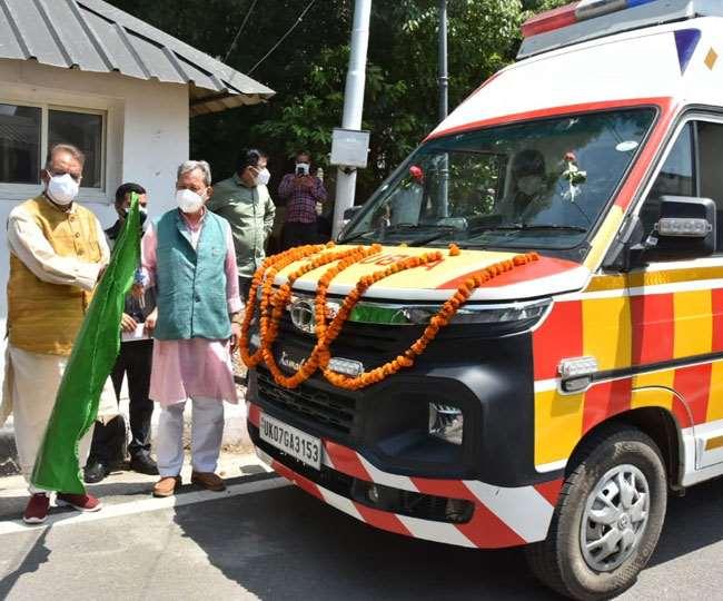 उत्तराखंड : मुख्यमंत्री ने 108 सेवाओं के 132 वाहनों को जनता को समर्पित किया, वाहनों की जिलेवार सूची जानिए