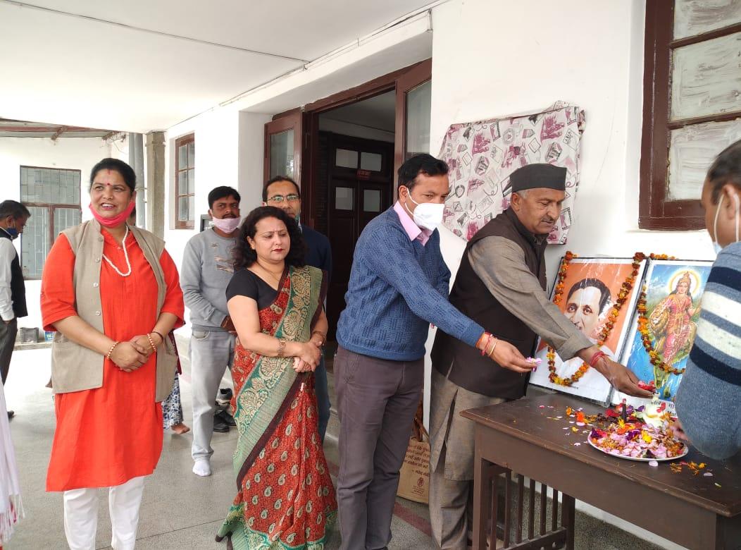 उत्तराखंड : मसूरी मे बड़ी धूमधाम से मनाया गया भाजपा का स्थापना दिवस