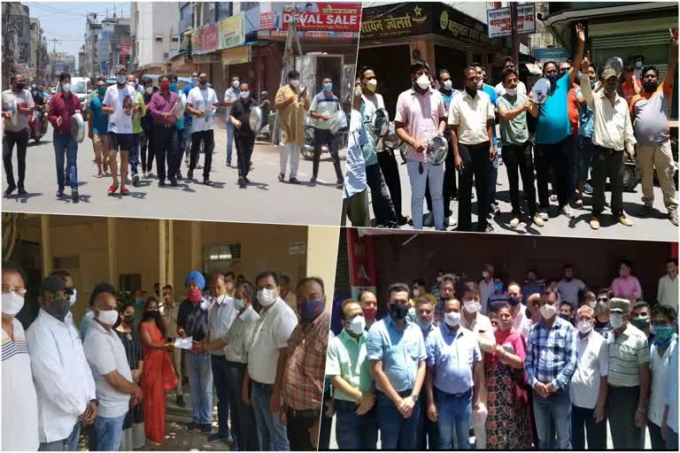 उत्तराखंड : कोविड कर्फ्यू में ढील न दिए जाने पर व्यापारियों में भारी आक्रोश