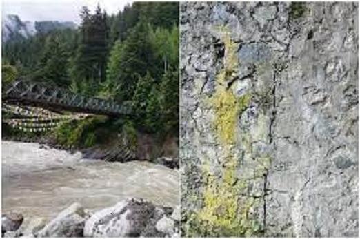 उत्तराखंड उत्तरकाशी : हर्षिल घाटी पुल के एबटमेंट पर पड़ी दरारें, ग्रामीणों में आक्रोश
