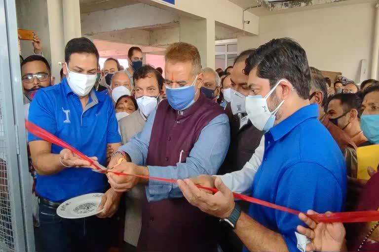 उत्तराखंड : कैबिनेट मंत्री और स्थानीय विधायक गणेश जोशी ने आज उपजिला चिकित्सालय लंढौर में ऑक्सीजन प्लांट का लोकार्पण किया