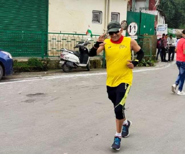 उत्तराखंड : 75 किमी दौड़ने के संकल्प के साथ सुमित साह ने मनाया 75वां स्वतंत्रता दिवस