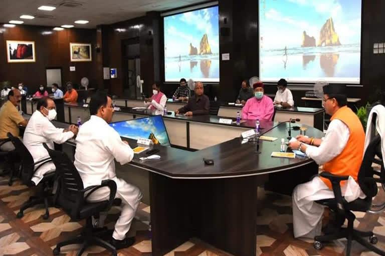 उत्तराखंड कैबिनेट: 2024 तक राज्य की 584 अवैध झुग्गियां सुरक्षित , सीएम पुष्कर सिंह धामी की अध्यक्षता में हुई कैबिनेट की बैठक में 21 प्रस्तावों पर मुहर लगी
