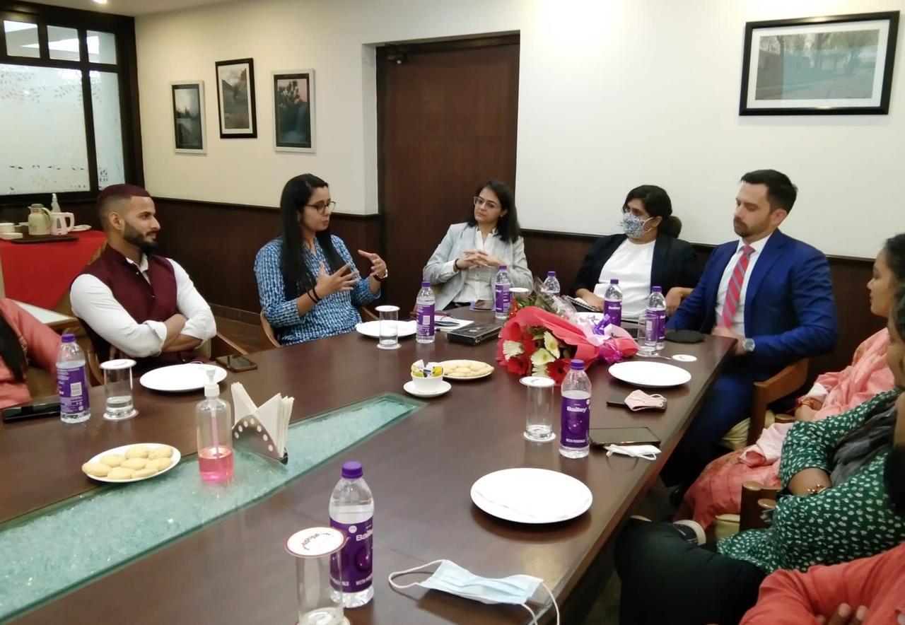 उत्तराखंड : अमेरिकन दूतावास के अधिकारियों ने किया युवा मोर्चा कार्यकर्ताओं से संवाद