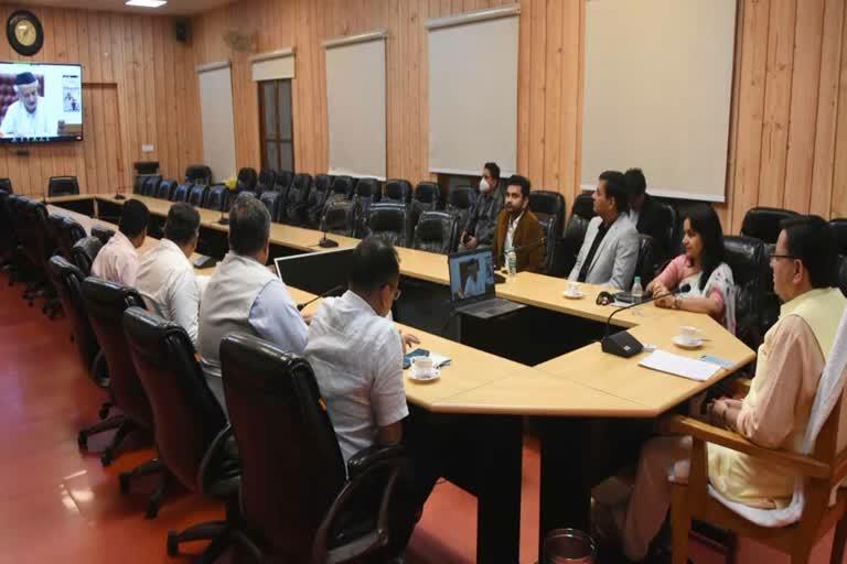 उत्तराखंड : मुख्यमंत्री पुष्कर सिंह धामी ने शुक्रवार को मुख्यमंत्री आवास में देवभूमि हिमालयन सुपर 30 ट्रस्ट की वेबसाइट का वर्चुअली लोकार्पण किया