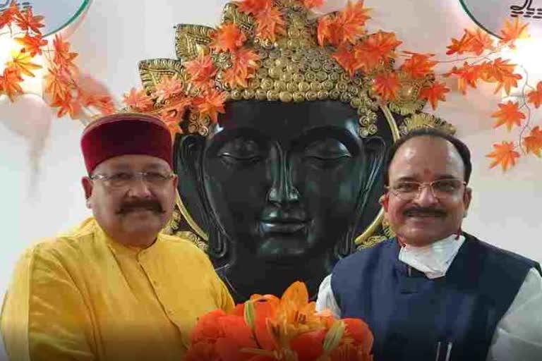 उत्तराखंड : केंद्रीय रक्षा राज्य मंत्री से मिले महाराज, कहा- लाखामंडल को महाभारत पर्यटन सर्किट के रूप में विकसित किया जाएगा