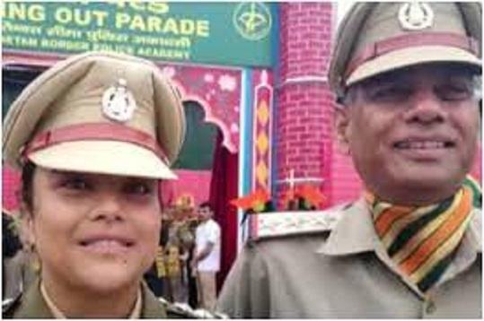 उत्तराखंड : आईटीबीपी में असिस्टेंट कमांडेंट के पद नियुक्त बेटी को पिता ने सैल्यूट किया, तो दोनों के खुशी से आंसू छलक पड़े, पढ़ें पूरी कहानी
