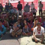 उत्तराखंड पिथौरागढ़ न्यूज़ : सड़क के लिए ग्रामीणों ने शुरू किया अनशन