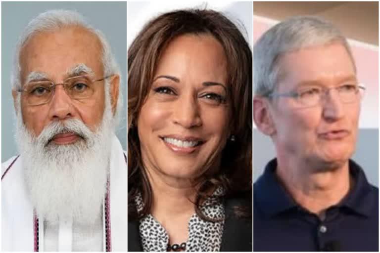 पीएम मोदी का अमेरिका दौरा : कमला हैरिस और एप्पल प्रमुख से करेंगे मुलाकात