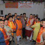उत्तराखंड देहरादून : बजरंग दल के स्थापना दिवस कार्यक्रम में प्रतिभाग करते कैबिनेट मंत्री गणेश जोशी