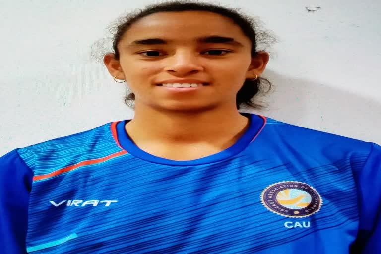उत्तराखंड : नीलम भारद्वाज का प्रदेश की अंडर-19 क्रिकेट टीम में चयन