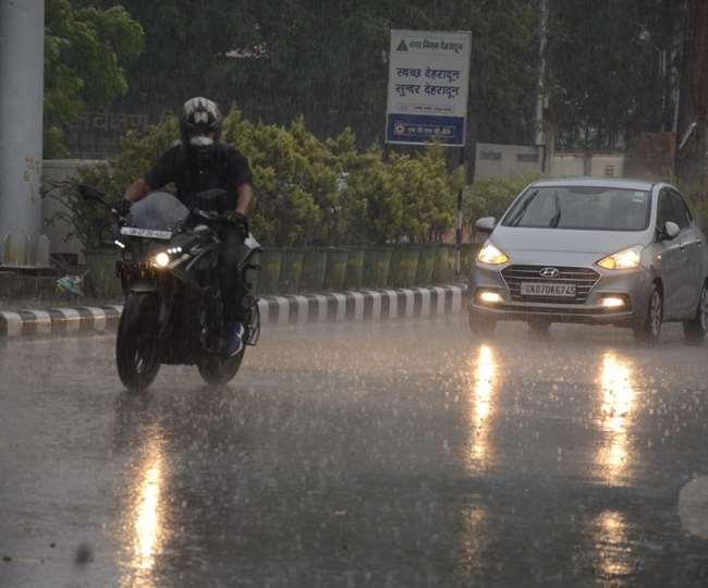 उत्तराखंड : मौसम विभाग ने जारी किया येलो अलर्ट, देहरादून और नैनीताल समेत चार जिलों में भारी बारिश के आसार