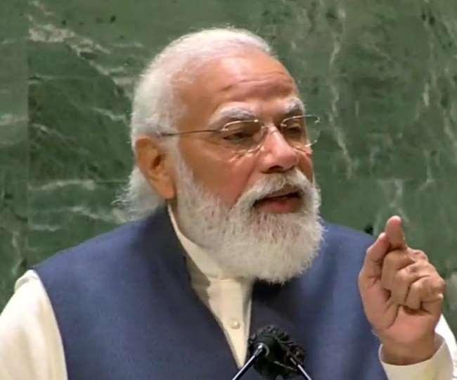 भारत न्यूज़ : पीएम मोदी का पाकिस्तान पर हमला, कहा- आतंकवाद को हथियार के तौर पर इस्तेमाल करने वालों को भी खतरा
