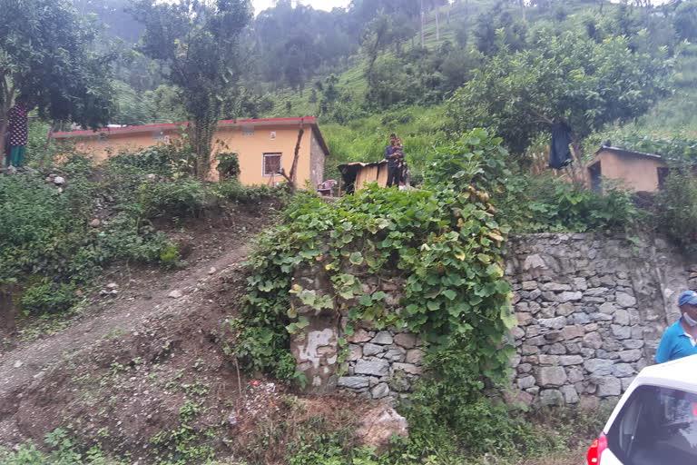 उत्तराखंड टिहरी : सड़क निर्माण के नाम पर पीडब्ल्यूडी ने काटे सैकड़ों पेड़, ग्रामीणों में रोष