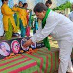 उत्तराखंड विकासनगर न्यूज़ : भारतीय किसान संघ तोमर गुट ने धरने को समर्थन दिया