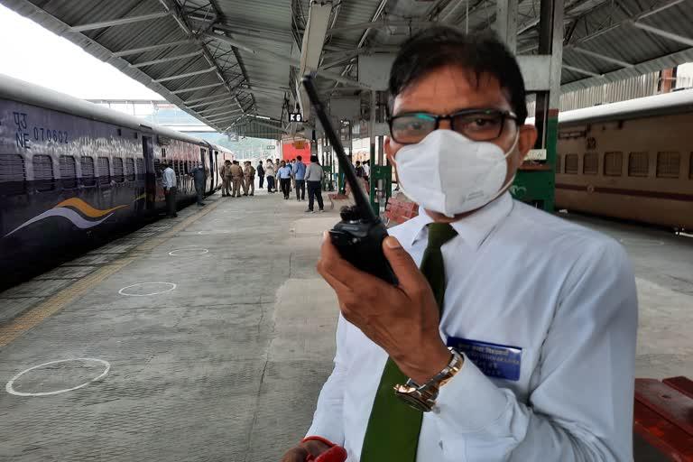 उत्तराखंड न्यूज़ : रेलवे महाप्रबंधक ने किया काठगोदाम रेलवे स्टेशन का औचक निरीक्षण