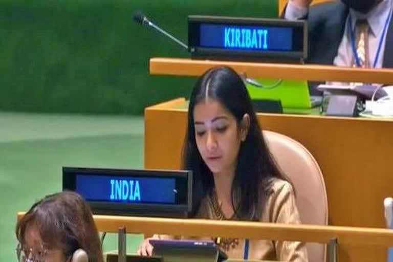 भारत न्यूज़ : UNGA में भारत ने कहा- सामूहिक प्रयासों से ही हासिल होगा सतत विकास