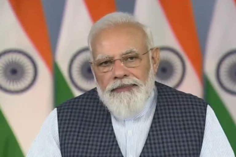 प्रधानमंत्री नरेंद्र मोदी ने आज इंडियन स्पेस एसोसिएशन का शुभारंभ किया